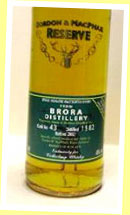 Brora 1982/2002 (40%, G&M Private for Collecting Whisky, cask #43, 120 bottles)