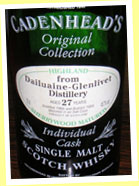 Dailuaine-Glenlivet 27yo 1966/1994 (45.7%, Cadenhead's Original Collection)