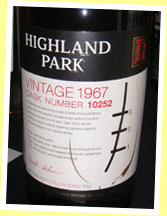 Highland Park 36yo 1967 (49.7%, OB for The Whisky Exchange, cask #10252, 138 bottles)