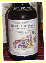 Highland Park 22yo 1957/1979 (45.7% - 80 proof, Cadenhead for Samaroli, 360 bottles)