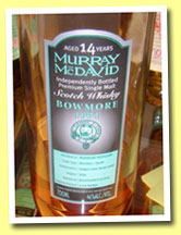 Bowmore 14yo 1991/2005 (46%, Murray McDavid, Guigal Côte-Rôtie, 2500 bottles)