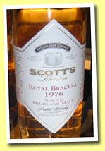Royal Brackla 1976/2003 (57.1%, Scott's Selection)