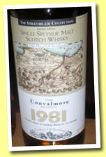 Convalmore 1981 (40%, Strathblair Collection, 2004)