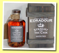 Edradour 11yo 1994/2005 (59.6%, OB, Straight from The Cask, Madeira finish, cask #04/316/4, 488 bottles)