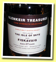 Fiskavaig 27yo 1977/2005 (51.3%, Douglas Laing for The Whisky Shop, 265 bottles)