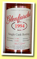 Glenfarclas 1994/2005 (46%, OB for Switzerland, cask #3979, 402 bottles)