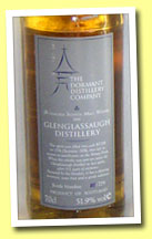 Glenglassaugh 28yo 1976 (51.9%, Dormant Distillery Company, cask #2376, 279 bottles)