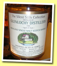 Glenlochy 25yo 1980/2005 (55.9%, Silent Stills for Waldhaus am See, cask #2821, 259 bottles)