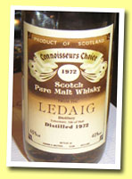 Ledaig 13yo 1972 (40%, G&M Connoisseur's Choice, old brown label, circa 1985)