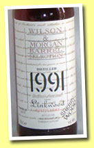 Linkwood 1991/2005 (46%, Wilson & Morgan, sherry wood)