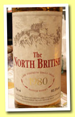 North British 1980 (60.3%, OB, new oak cask, circa 2000?)