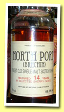 North Port (Brechin) 14yo 1974/1988 (66.2%, Intertrade, 75cl, 177 bottles)