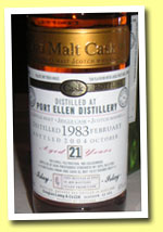 Port Ellen 21yo 1983/2004 (50%, Douglas Laing OMC, DL 1572, sherry, 435 bottles)