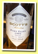Port Ellen 1981/2005 (57.7%, Scott's Selection)