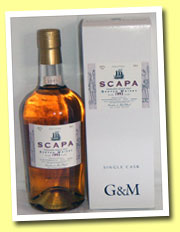 Scapa 1993/2005 (45%, Gordon & MacPhail for La Maison du Whisky)