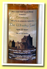 Talimbourg 23yo 1982/2005 (49.5%, The Whisky Fair, bourbon hogshead, 222 bottles)