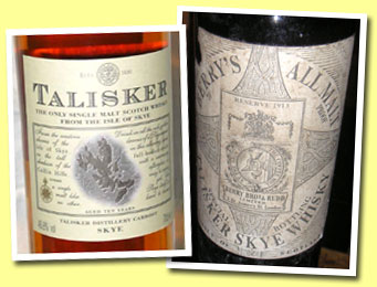 Talisker Reserve 1913 (70° proof, Berry Bros and Rudd, probably late 1920's - early 1930's)