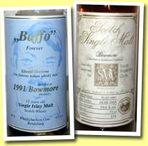 Bowmore 12yo 1991 'Baffo Forever Edition No.2' (46%, Whiskyauction, 311 bottles)
