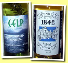 CELP 'The Seaweed Experience' 6yo (55%, The Ultimate Whisky Company, Holland)