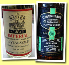 Imperial 16yo 1976/1993 (43%, The Master of Malt, cask #7560)