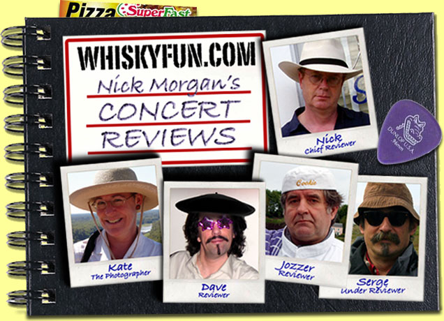 Nick Morgan's Concert Reviews on Whiskyfun.com