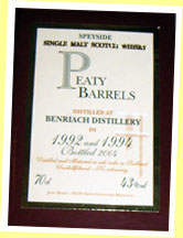 Benriach 1992-1994/2004 (43%, Jean Boyer Best Cask Selection, France)