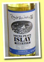 Bowmore 1999/2005 'Young Peaty Islay 3rd batch' (61.5%, Royal Mile Whiskies, 308 bottles)