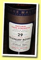 Glenury Royal 29yo 1970/1999 (57%, Rare Malts)