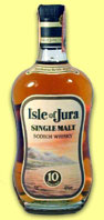 Isle of Jura 10yo (40%, OB, late 1980's)