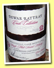 Linkwood 19yo 1985/2005 (60.6%, Dewar Rattray, cask #4543, 233 bottles)