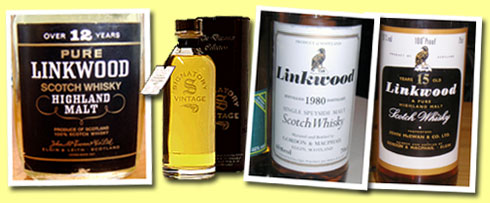 Linkwood 12yo (43%, OB, John McEwan & Co, UK, 1970's)