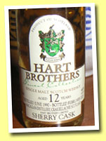 Macallan 12yo 1990/2003 (46%, Hart Bros, sherry cask)