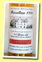 Macallan 14yo 1990/2005 (46%, Whisky-Doris, sherry cask)