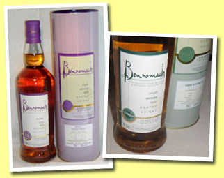 Benromach 22yo (45%, OB, 22 months Port pipes finish, bottled 2005, 3500 bottles)