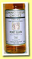 Port Ellen 1981/1999 (40%, G&M Connoisseur's Choice