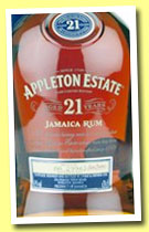 Appleton Estate 21 yo (43%, OB, Jamaica, +/-2013)