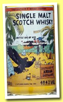 Arran 'Batch 2' (49.4%, That Boutique-y Whisky Company, 459 bottles)