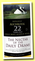 Auchroisk 22 yo 1990/2013 (52.9%, The Nectar of the Daily Drams)