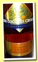 Auchroisk 22 yo 1991/2013 (49.5%, The Coopers Choice, Marsala finish, cask #9048, 250 bottles)