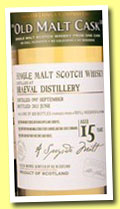 Braeval 15 yo 1997/2013 (50%, Hunter Laing, Old Malt Cask, ref #9888)