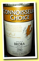 Brora 1982/2010 (43%, Gordon & MacPhail, Connoisseurs Choice, refill sherry)