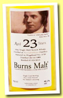 Bunnahabhain 23 yo 1989/2013 'Burns Malt' (48.2%, The Whisky Barrel, cask #5739)