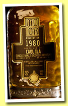 Caol Ila 30 yo 1980/2011 (46%,  Mo Or Collection, bourbon hogshead, cask #2570, 300 bottles)
