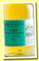 Caol Ila 1980/2013 'The Smokery' (46%, Wemyss Malts)