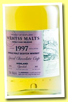 Clynelish 16 yo 1997/2013 'Spiced Chocolate Cup' (46%, Wemyss Malts, hogshead, 302 bottles)