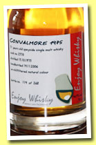 Convalmore 31 yo 1975/2006 (46.9%, Enjoy Whisky, 268 bottles)