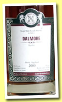 Dalmore 2000/2012 (53.4%, Malts of Scotland, sherry hogshead, cask #MoS 12035, 290 bottles)