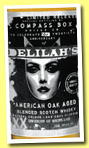 Delilah's (40%, Compass Box, blend, 6,324 bottles, 2013)