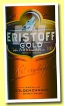 Eristoff Gold 'Golden Caramel' (20%, OB, vodka?, +-2013)