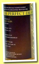 Glen Elgin 36 yo 1975/2011 (48.2%, The Whisky Agency, The Perfect Dram, bourbon hogshead, 134 bottles)